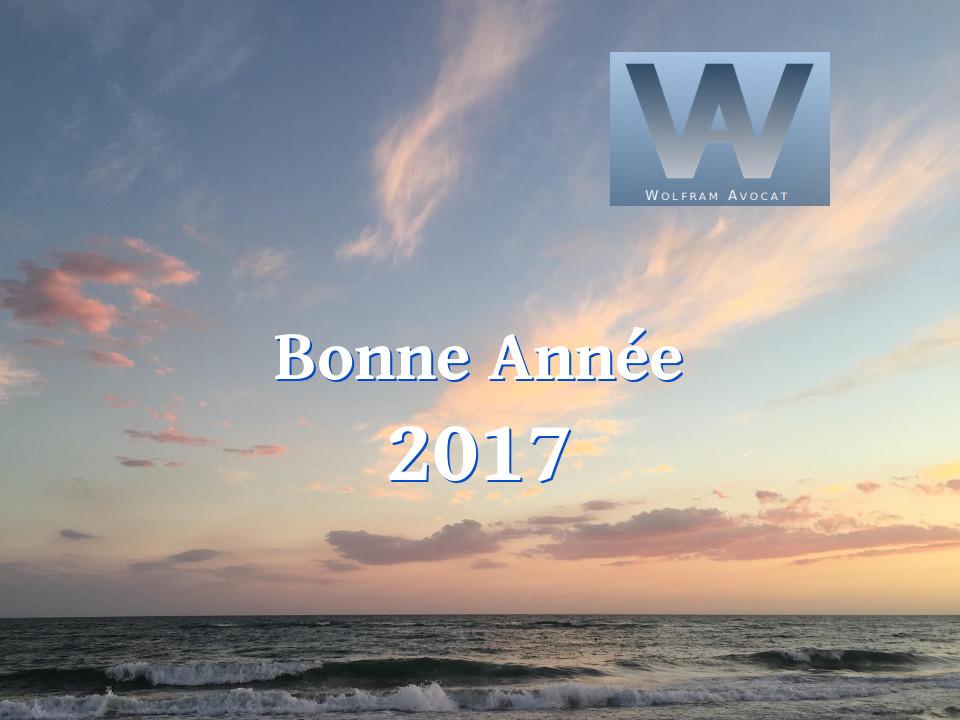 Bonne Année 2017 et Meilleurs Voeux Happy New Year Gutes Neues Jahr Buon Anno Nuovo http://www.wolfram.fr/voeux-2017/